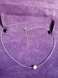 18k white gold and cultured pearl Manassas, 20109