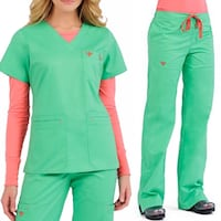 Med Couture EZ-Flex Scrubs Set Small Las Vegas, 89149