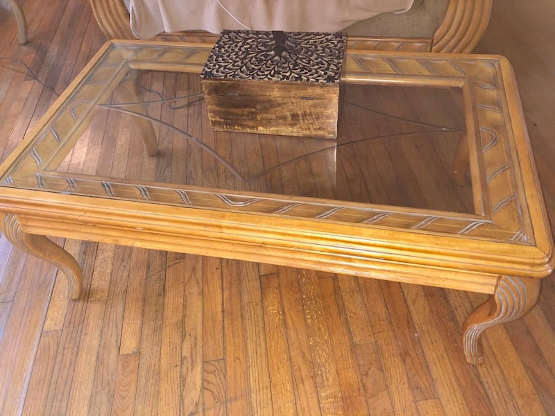 5 Piece Coffee Table Set c55937fa-94d1-45fa-9244-5a7c4e61ad22