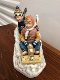 Norman Rockwell porcelain figurine.
