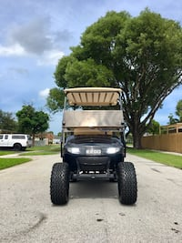 Custom Lifted E-Z-Go Golf Cart 48 Volt Davie