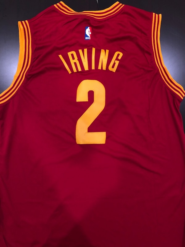 check out f997d e0ed0 Kyrie Irving Cleveland Cavs Jersey NWT XL