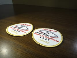 NISSAN Gold Award of Excellence 2004 2005 Patch 1st Owner 6 prs avail