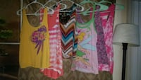 Lot of 6 Large Tank Tops