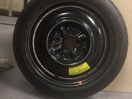 New spare tire