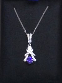 Necklace tanzanite enchanted magical organic real stones rare elegant blessed Frederick, 21701