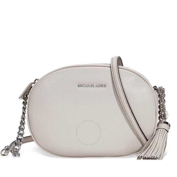 Michael Kors Light Gray Ginny Crossbody