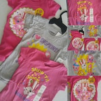 3 tops Size 6/6X shirts for girls Winnipeg, R2C