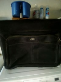 Embark garment suitcase with wheels