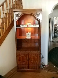 brown wooden cabinet with shelf Philadelphia