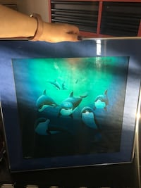 Wyland art framed and signed Harpers Ferry, 25425