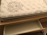 Bed Frame with 2 storage boxes (Mattress Also Available) null