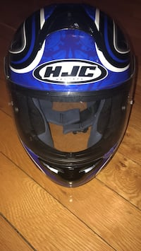 Black, White & Grey HJC Helmet sz Small Woodbridge, 22193