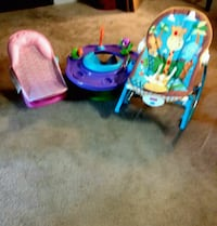 baby's blue and pink bouncer Montgomery, 36116