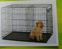 New small dog cage with floor slide out pan. Sterling, 20165