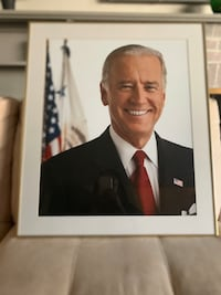 Framed Photo of VP Biden Washington, 20019