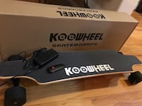 Koowheel electric longboard/skateboard
