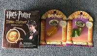 Two harry potter story scope and one time-turner sticker kit boxes Toronto, M2N 4P9