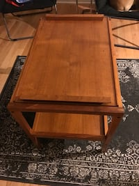 square brown wooden coffee table Philadelphia, 19145