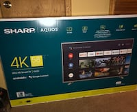 Sharp TV 58' New  Falls Church