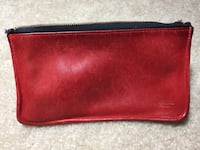 Rectangular red coach leather wallet Fairfax, 22032