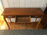 Wooden table with clear coat finish Virginia Beach, 23464