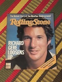 Vintage Rolling Stone magazine 1982 Richard Gere The Who