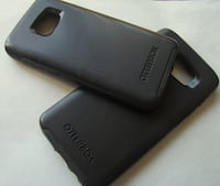 Authentic Otterbox Case for Samsung Galaxy S7 and S7 Edge in Black Regina