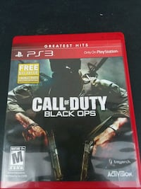 Call of Duty Black Ops PS3 game case Houston, 77087