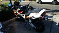 white and black sports bike Roseville, 95678