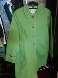 Green coach trench jacket  Upland, 91784