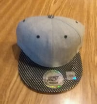 white and black fitted cap Shelbyville, 37160