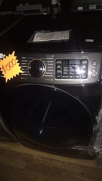 black front-load clothes washer Aliso Viejo, 92656