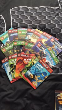 Ninjago books 10+ condition  Innisfil, L9S