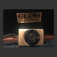 Gold plated cannon limited addition camera Mississauga