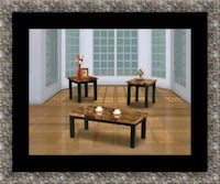 3pc Marble coffee table 59 km