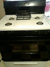 white and black gas range oven Shawnee, 74801