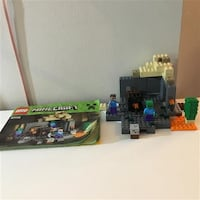 Lego Minecraft The Dungeon #21119 Markham