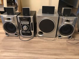 Stereo with Surround sound system