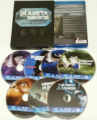 Pack EL PLANETA DE LOS SIMIOS EVOLUTION COLLECTION