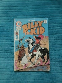 Billy The Kid Comic Book