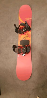 Burton 137 Chopper Snowboard with SIMS bindings