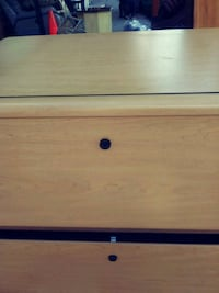 File cabinet with key