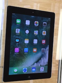 iPad 4 32gb, Black color.  Excellent condition. WiFi model.  Charger and cable included.   Cash only. Price firm 220 2409 mi