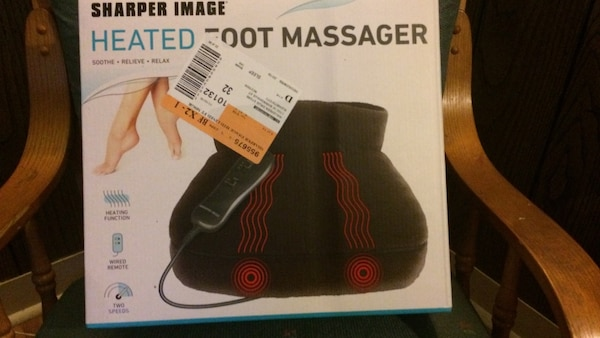 Used Sharper Life Heated Foot Massager Box For Sale In Elizabeth