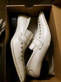 pair of white leather shoes Moreno Valley, 92555