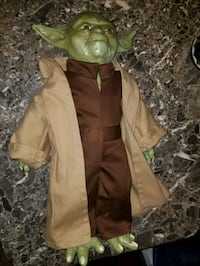 "17"" tall Yoda Jedi Star Wars Latex Plush Figure Bellevue, 44811"