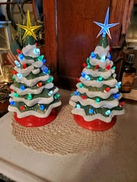 Cermaic  christmas tree  battery each Hagerstown, 21740
