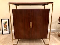 West Elm Deco Bar Cabinet Alexandria, 22302