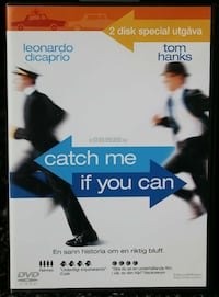 Catch Me If You Can: Specialutgåva (2 skivor), DVD Norrköping, 602 47